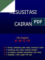 RESUSITASI CAIRAN
