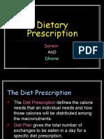 269341 Dietary Prescription