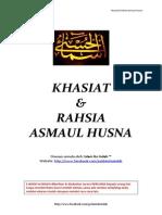 Khasiat & Rahsia Asmaul Husna