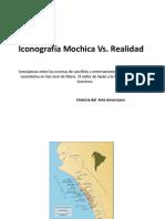 Iconografía Mochica vs Realidad Oficial