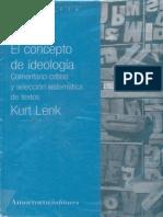 Corrientes Ideológicas Contemporáneas - CRÍTICA DE LA REALIDAD SOCIAL (Karl Marx) - KURT LENK