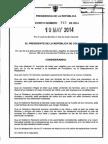 Decreto 915 Del 19 de Mayo de 2014