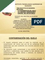 4.3 Contamiacion Del Suelo, Presentacion