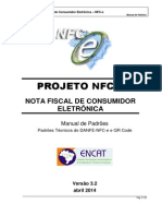 Manual de Especificacoes Tecnicas Do DANFE NFC-e QRCode Versao3.2