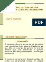Modelado Del Generador Sincrono y Curva de Capabilidad