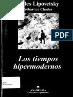 106320092 G Lipovetsky Los Tiempos Hipermodernos