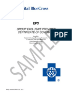 FullyInsured EPO COC 2012