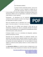Clasisficacion Quimica de Los Hidrocarburos Alifaticos