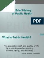 Brief History of Public Health