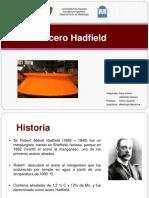 Acero Hadfield Listo