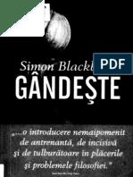 Pages From Simon Blackburn - Gandeste