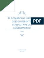 El Desarrollo Humano Desde Diferentes Perspectivas Del Conocimiento