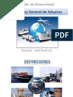 Unidad 06 Nueva Ley General de Aduanas