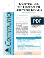 Anesthesia Business Consultants Communique Winter 2013 Edition