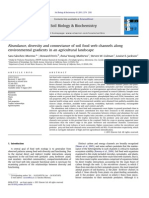 Abundance, Diversity and Connectance of Soil Food Web Channels Along Environmental Gradients