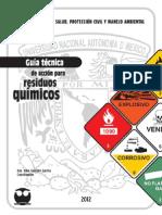 Guía Técnica de Acción Para Residuos Químicos