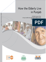 How the Elderly Live in Punjab