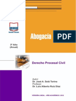 Derecho Procesal Civil - Mòdulo Estudios Universidad de Salta