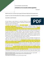 Ines Dussel La Formacion Del Curriculum