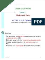 2 Modelo de Datos