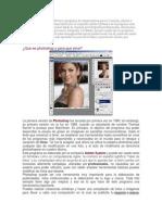 Adobe Photoshop Es Un Software o Programa de Computadoras Para La