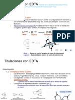 Titulaciones con EDTA