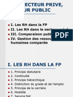 Comparaison Gestion Ressources Humaines Secteur Prive Public Cours Holcman
