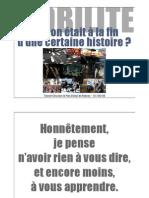 François Bellanger - Mobilité - La fin d'une histoire