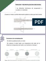 Deformacion y Recristalización (1)