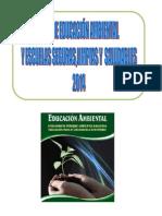 Plan de Educación Ambiental 2014 - IE N° 0089 Manuel Gonzales Prada