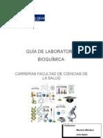 Guía de Laboratorio Bioqumica 2012