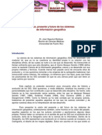 Pasado, Presente y Futuro de Los Sistemas de Información Geográfica