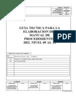 Guia Manual Procedimientos