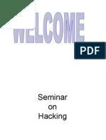 Seminar on Hacking