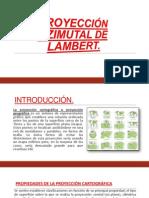 Proyección Azimutal de Lambert