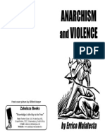 Anarchism and Violence - Errico Malatesta