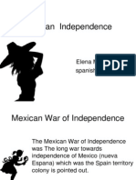 mexican  independence
