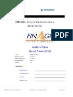 IBR100 Configuracion de La Aplicacion FA