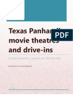Texas Panhandle movie theatres and drive-ins