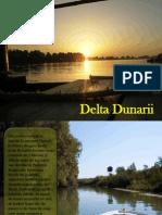 Delta Dunarii-prezentare turistica