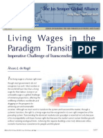 Living Wages in the Paradigm Transition