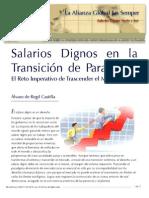 Salarios Dignos en La Transicion de Paradigma