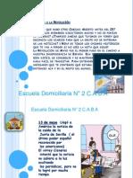 SEMANA DE MAYO DOMICILIARIA N° 2