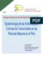 Epidemiologia de Las Enfermedades Cronicas No Transmisibles