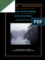 Libro - Andrés Eloy Blanco - Selección de Poesía