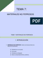 7 Metales No Ferrosos