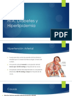 HTA, Diabetes y Hiperlipidemia