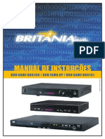 Manual DVD Britania