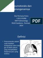 Dwi - Pneumotoraks & Penanganannya