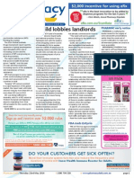 Pharmacy Daily for Thu 22 May 2014 - Guild lobbies landlords, PCEHR 'opt-out' change, Synthetic drugs boom, Travel specials and much more